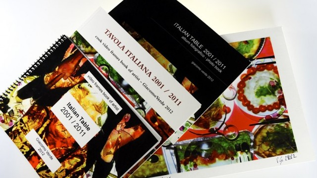 Multi Book – video frames book of artist | Tavola Italiana 2001 / 2011